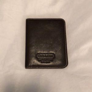 Womens coach business card holder on poshmark coach brown leather card holder euc colourmoves